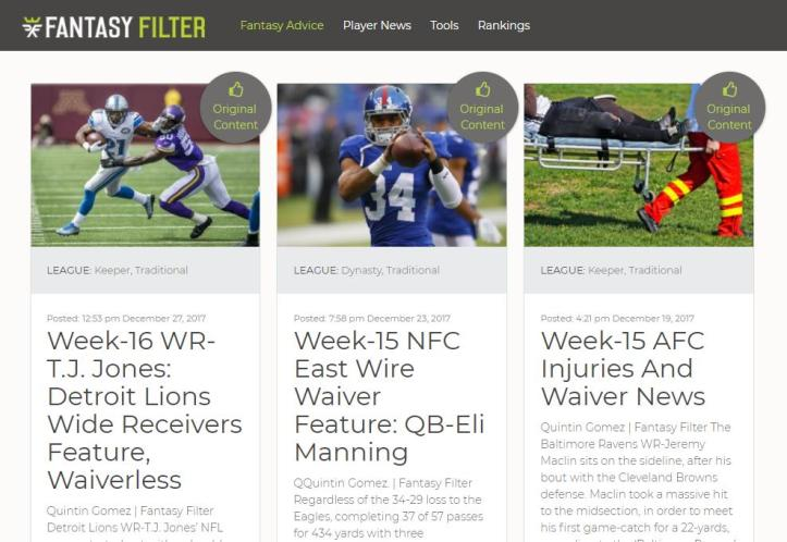 Most Accurate Fantasy Football Advice from Top Fantasy Experts